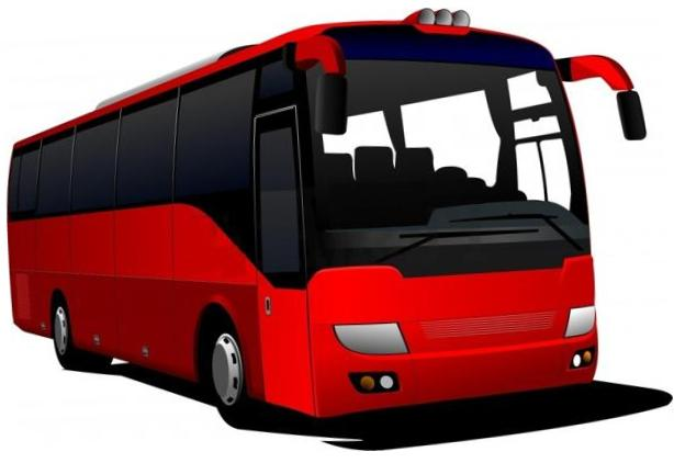 Touring bus clipart #17