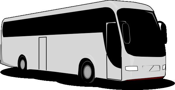 Tour bus clipart free clipart images.