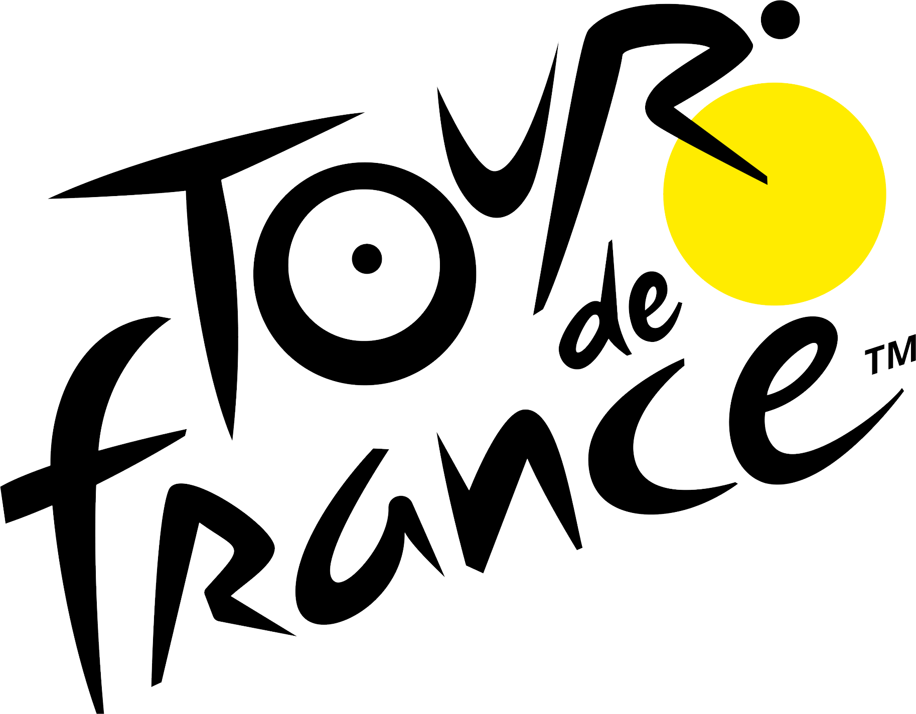 Tour de France logo PNG.