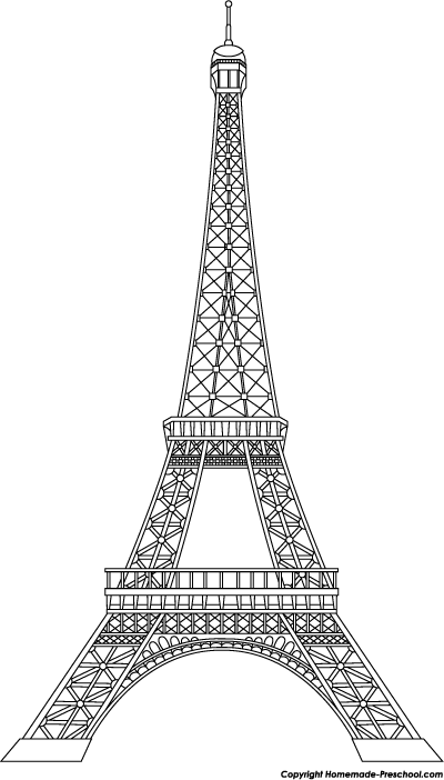 Eiffel tower art on paris paris art and tour eiffel clipart.