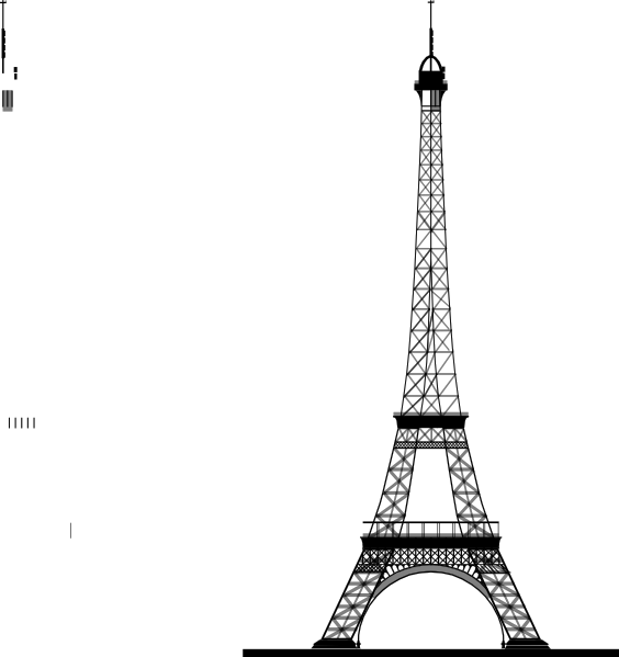 La Tour Eiffel (eiffel Tower) Clip Art at Clker.com.