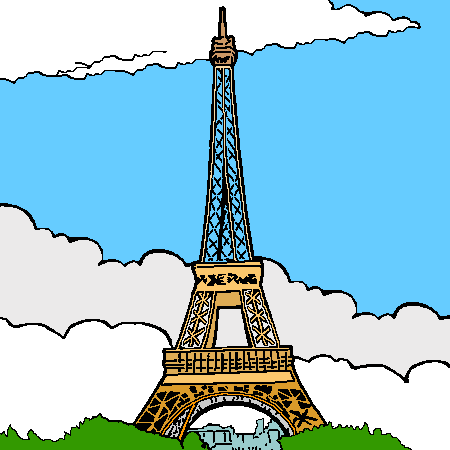 tour eiffel fake clipart clipground. Black Bedroom Furniture Sets. Home Design Ideas