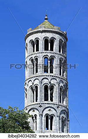 """Stock Photo of """"Fenestrelle Tower or Campanile of Saint."""
