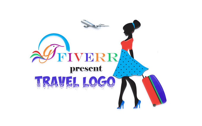 make travel tour holidays logo design.