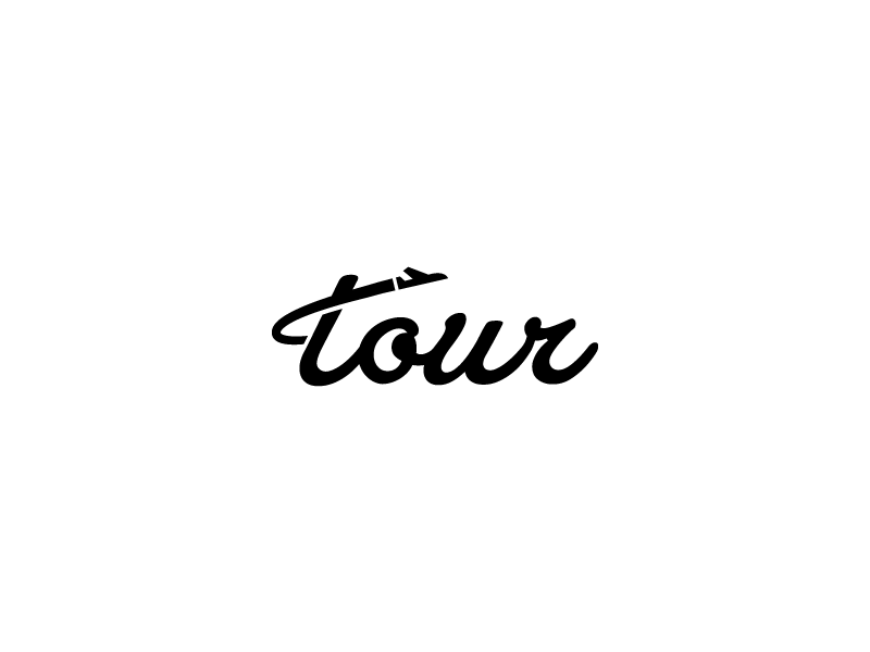 Tour Logo by Boutik on Dribbble.