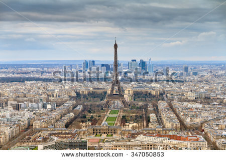 Tour Montparnasse Stock Photos, Royalty.