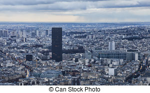 Stock Images of Tour Montparnasse.