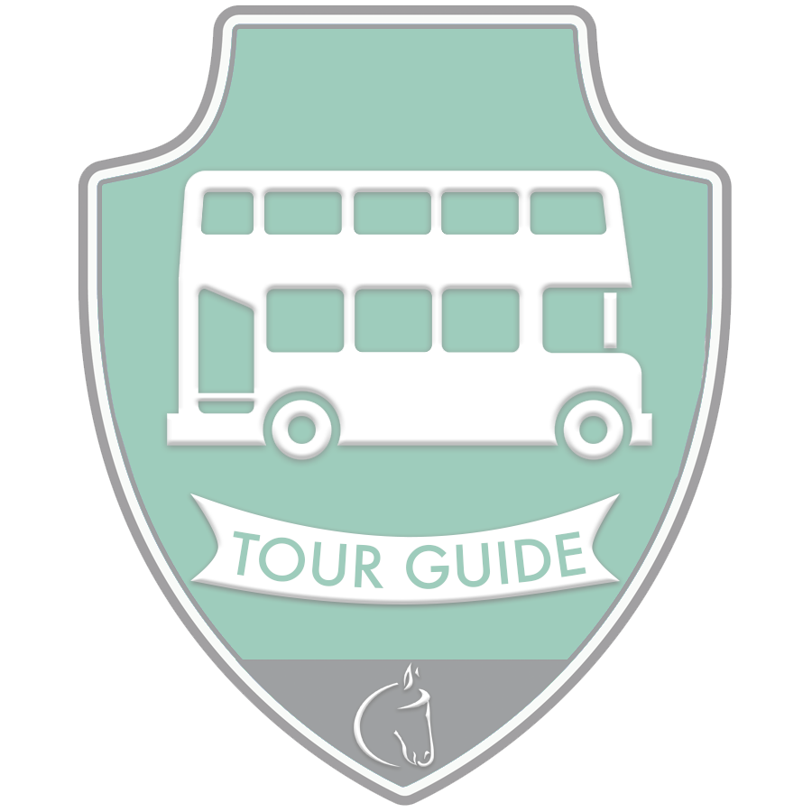 I Earned The Tour Guide Badge!.