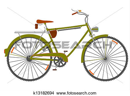 Drawings of Reto touring bike k13182694.