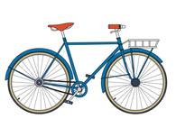 Free Bicycle Clipart.