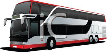 Realistic Tour Bus.