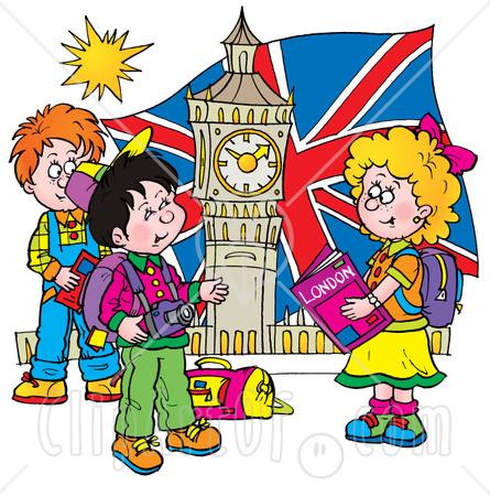 London England Clipart.