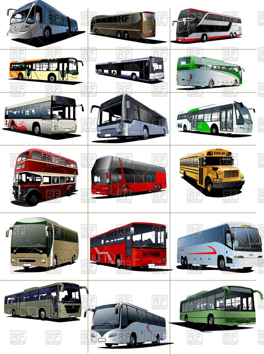 Modern bus.