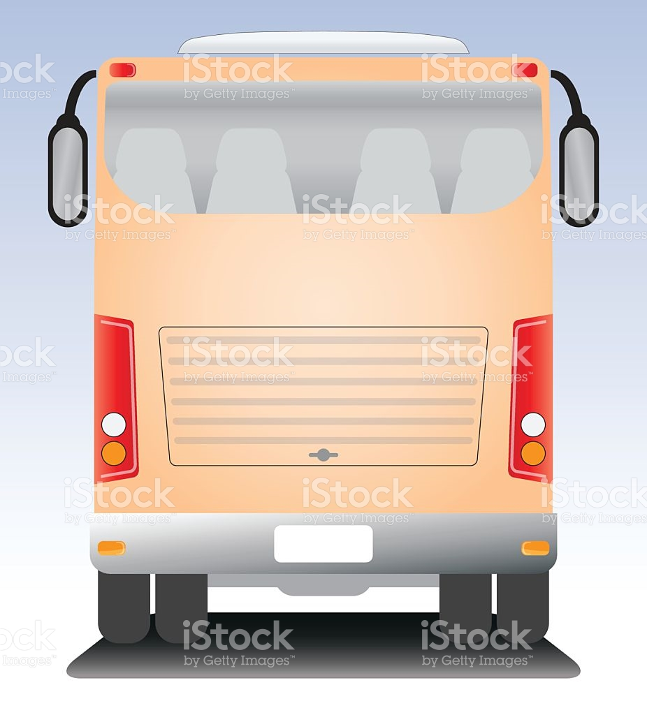Modern Touring Coach Bus stock vector art 579241930.
