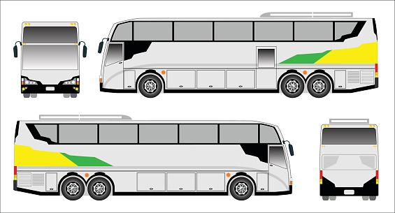 Double Deck Bus Clip Art, Vector Images & Illustrations.