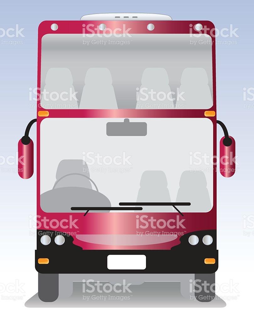 Double Deck Modern Touring Bus stock vector art 578293196.