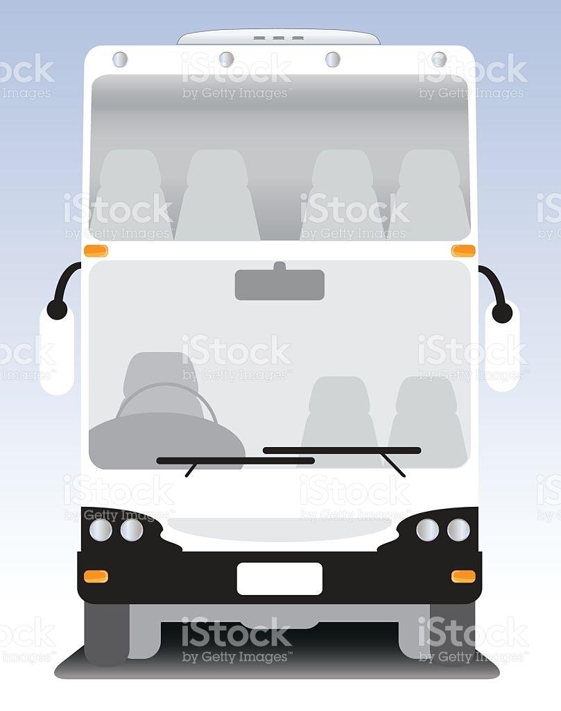Double Deck Modern Touring Bus stock vector art 578292912.