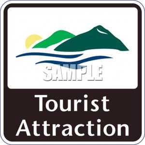 Attraction Sign.