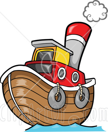 Tugboat pictures clip art.