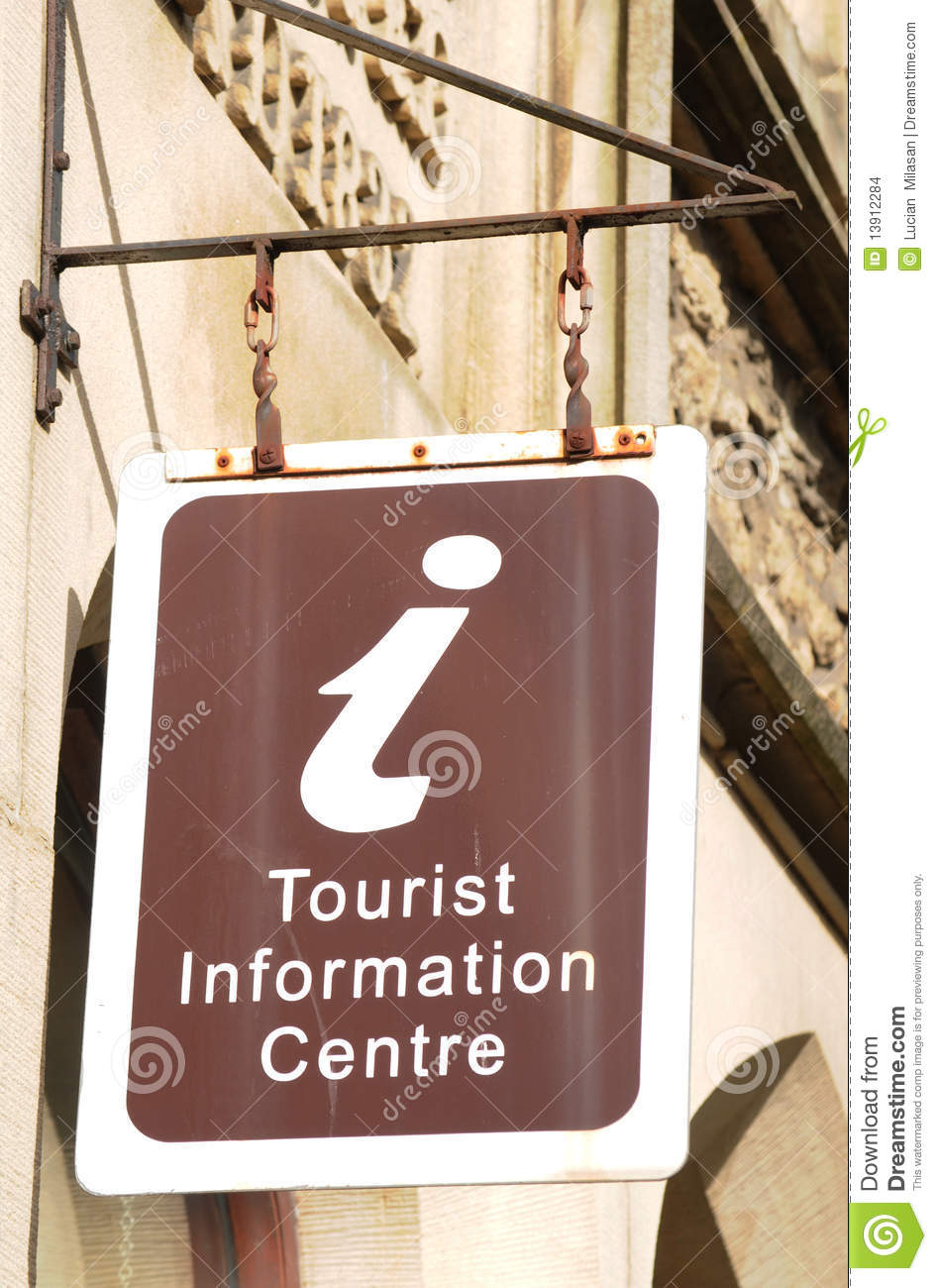 Tourist Information Centre Stock Images.