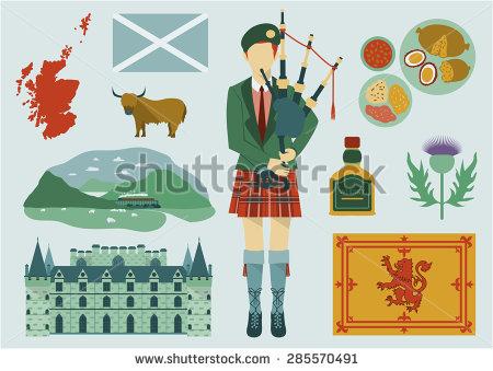 Scotland Stock Photos, Royalty.