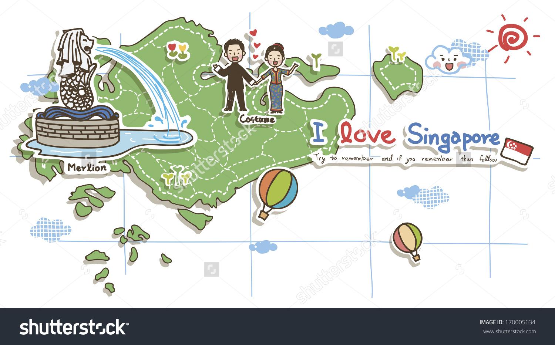 Maps Update #20001508: Singapore Tourist Map.