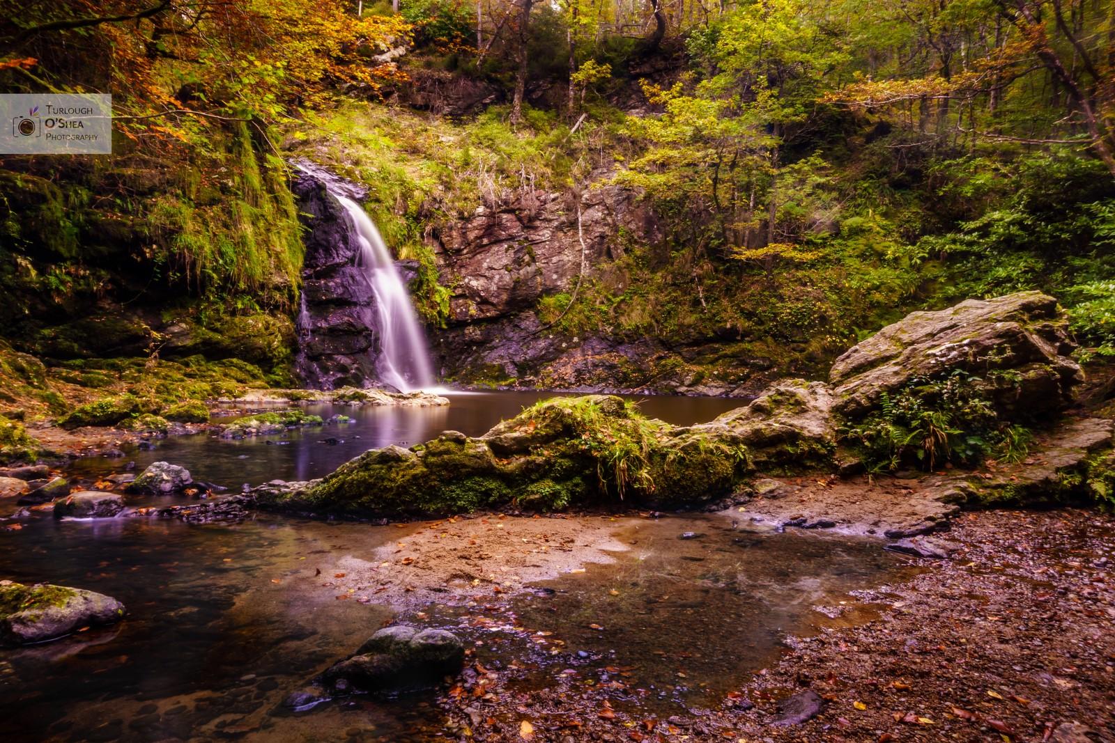 Tourmakeady Waterfall, Co. Mayo (Part 2).