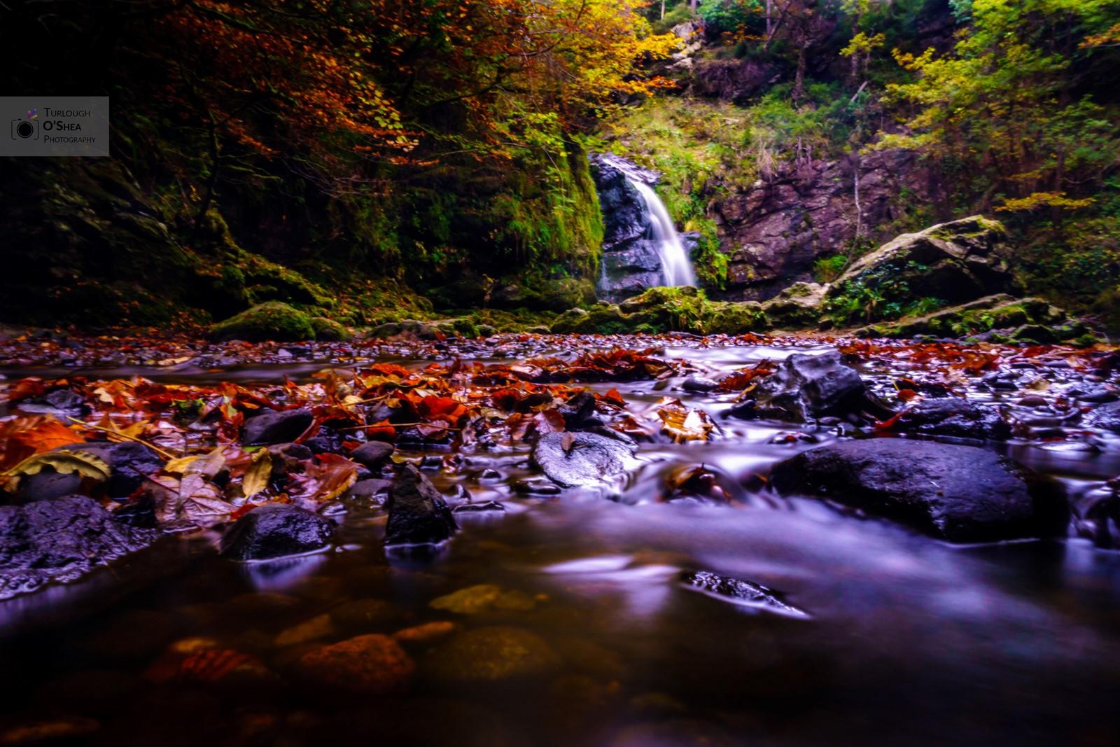 Tourmakeady Waterfall, Co. Mayo.