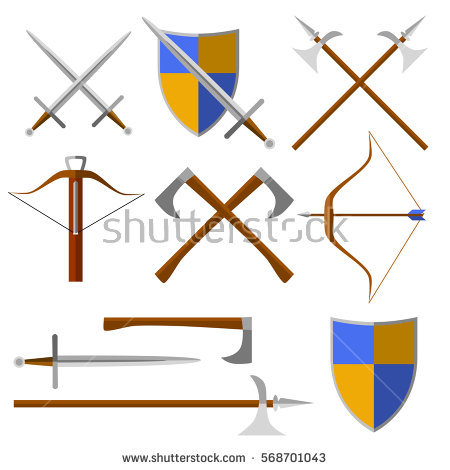 Medieval Crossbow Stock Photos, Royalty.