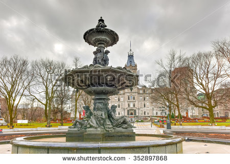 Fontaine De Tourny Stock Photos, Royalty.