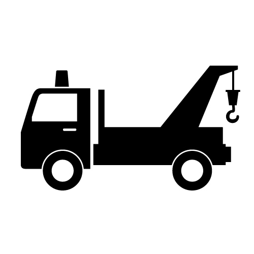 Tow Truck Clipart Black And White 20 Free Cliparts