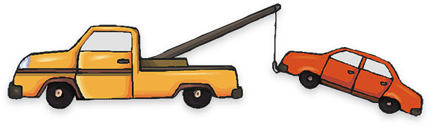 Towing Clipart.