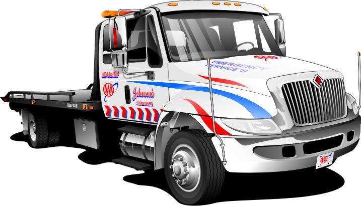 Tow Truck Logo Clipart.