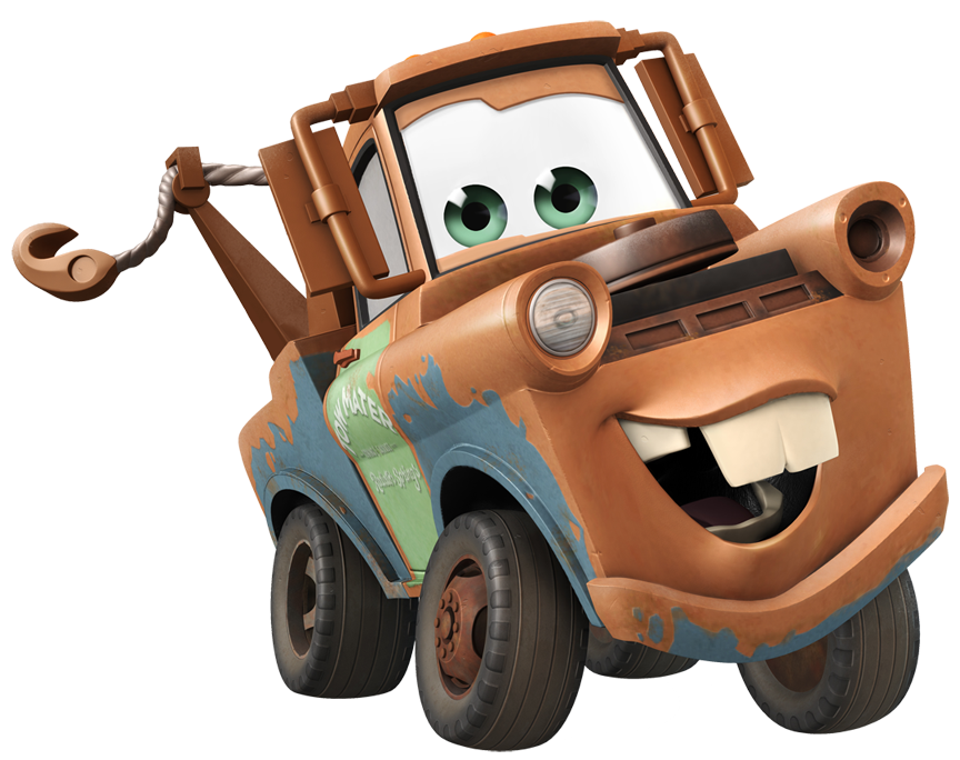 Disney Cars Clipart Mater.