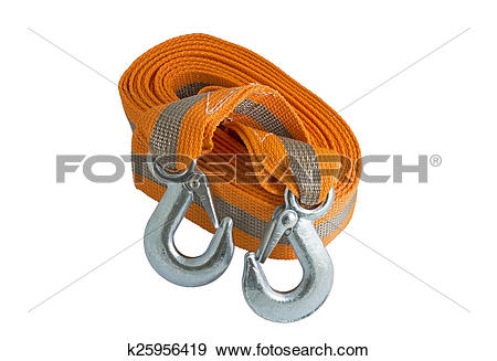 Stock Photograph of Tow rope k25956419.
