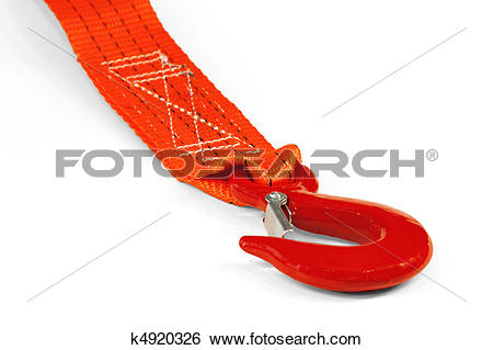 Stock Images of Car Tow Rope k4920326.