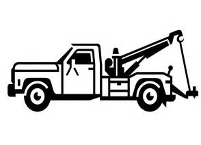Similiar Black And White Tow Truck Keywords.