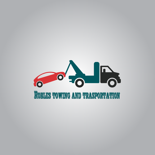 Towing truck logo.