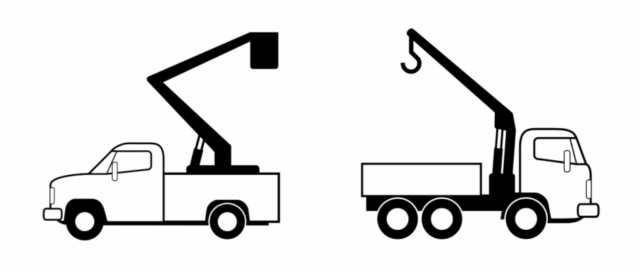 Tow Truck Crane Computer Icons Vehicle Pickup Truck.