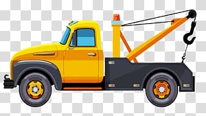 Tow Truck transparent background PNG cliparts free download.