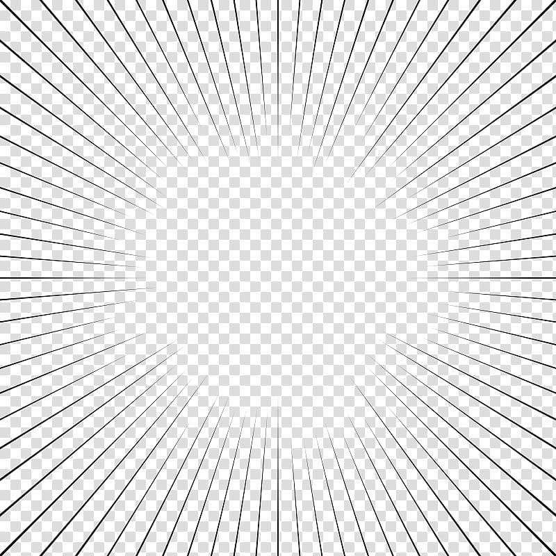 Screentones action lines, straight black border lines.