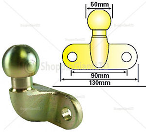 50MM TOW BALL EU Approved for TOWBAR CARAVAN TRAILER TOW BAR.