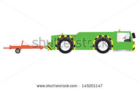 Tow Tractor Stock Vectors & Vector Clip Art.
