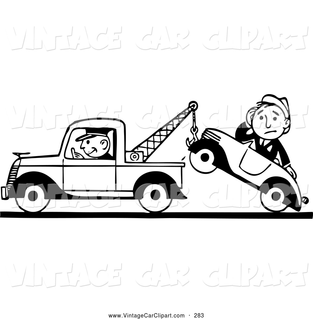 Towing cliparts.