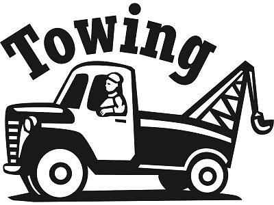 Tow Truck Clipart.