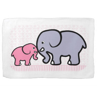 Cute Animal Clipart Kitchen Towels.