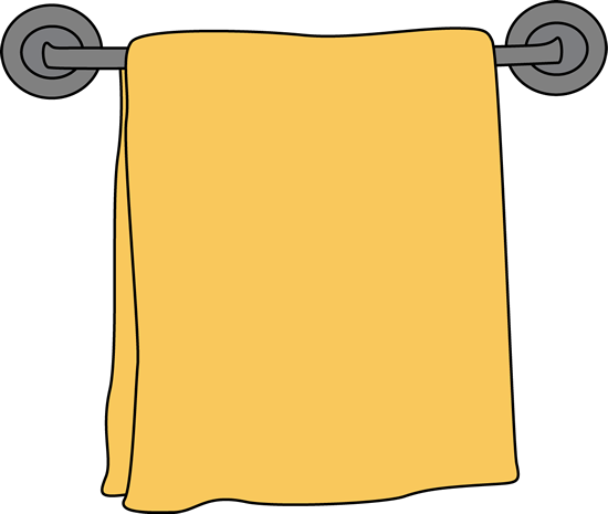 Towel rack clipart.