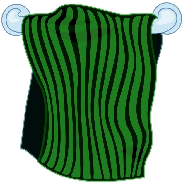 Towel Clip Art: Towel Bar Clipart