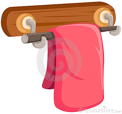 Towel Rack Clipart.
