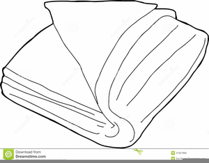 Towel Clipart Black And White.